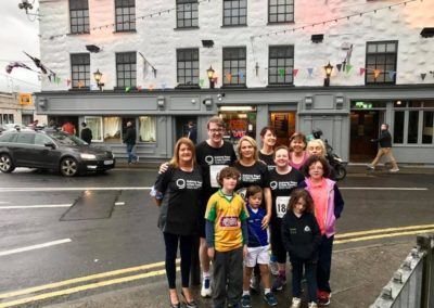 Streets of Galway 2018 participants including Mayor Neil McNeilis