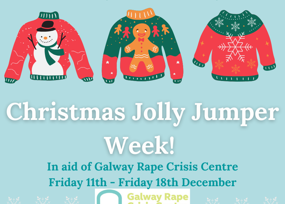 Christmas Jolly Jumper Week!!